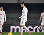 Ronaldo lập công, Juventus vẫn thua ngược Verona