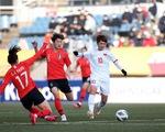 Thua Hàn Quốc 0-3, tuyển nữ Việt Nam xếp nhì bảng A