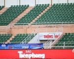 Sân vận động vắng khán giả đến xem bóng đá vì COVID-19