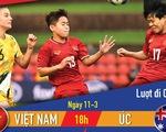 Lịch trực tiếp play-off tranh vé dự Olympic 2020: nữ Việt Nam gặp Úc