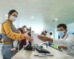 Sân bay Nội Bài thắt chặt thủ tục khai báo y tế