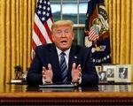 Ông Trump cấm đi lại từ châu Âu một tháng