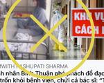 Bệnh viện Bình Thuận bác tin bệnh nhân thứ 34