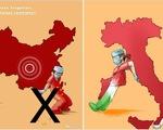 Tri ân người Ý từng giúp đỡ, Trung Quốc