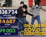 Dịch COVID-19 sáng 23-3: Hơn 32.000 người Mỹ nhiễm, California ở tình trạng thảm họa