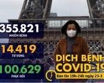 Dịch COVID-19 tối 23-3: Đau đớn 462 người chết tại Tây Ban Nha chỉ sau 1 đêm