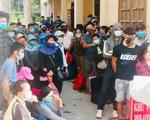 Dân từ Lào về tránh dịch, Nghệ An đón cách ly trong đêm