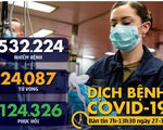 Dịch COVID-19 sáng 27-3: Mỹ thêm gần 15.000 ca nhiễm, vượt Trung Quốc cao nhất thế giới