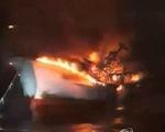 5 thuyền viên Việt mất tích trong vụ hỏa hoạn tàu cá ngoài khơi đảo Jeju