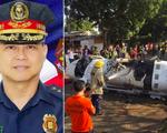 Rơi trực thăng chở tư lệnh cảnh sát quốc gia Philippines