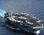 Tàu sân bay USS Theodore Roosevelt của Mỹ đã thả neo ở vịnh Đà Nẵng
