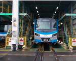 Hai đoàn tàu metro từ Nhật Bản sắp được chuyển về TP.HCM