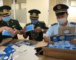 Đề nghị lấy khẩu trang y tế tịch thu được phát cho lực lượng phòng chống COVID-19