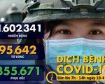Dịch COVID-19 sáng 10-4: Thế giới hơn 1,6 triệu ca nhiễm, Thủ tướng Anh rời khoa chăm sóc đặc biệt