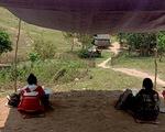 Dựng lều trên đồi cho con học online