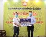 Hơn 500 triệu đồng tiếp sức BV Bạch Mai khống chế dịch COVID-19