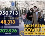 Dịch COVID-19 chiều 2-4: Thái Lan giới nghiêm, Anh hơn 63.000 ca nhiễm