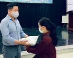 Trọng Tấn, Đăng Dương, Tấn Minh trao 7 tấn gạo cho 1.305 gia đình khó khăn