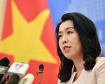 Việt Nam theo dõi sát tình hình phức tạp ở vùng biển của một số nước ASEAN