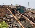 Mưa đá lại trút xuống Tây Bắc, hàng chục ngôi nhà tan hoang