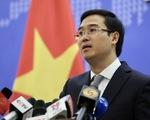 Việt Nam giao thiệp với Trung Quốc, khẳng định lập trường nhất quán về Biển Đông