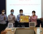 Cùng Tuổi Trẻ chống dịch COVID-19: Tặng thêm 7 máy thở cho các bệnh viện
