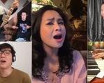 Quốc Trung, Thanh Lam, Trúc Nhân ngồi nhà hát với ban nhạc, làm MV thời COVID-19