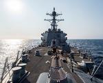 Mỹ lại đưa tàu chiến qua eo biển Đài Loan