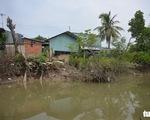 Sạt lở 165m bờ kè Tắc Sông Chà thiệt hại ít nhất 15 tỉ đồng