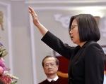 Bà Thái Anh Văn tuyên thệ nhậm chức, không chấp nhận