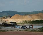 Giảm thời gian và công suất khai thác cát trong hồ Dầu Tiếng