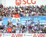 5.000 khán giả trên sân Bà Rịa - Vũng Tàu hò reo với chiến thắng đội nhà