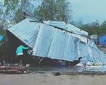 """""""Mưa vàng"""" kèm lốc xoáy ở Ninh Thuận làm 102 căn nhà hư hỏng"""