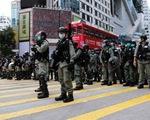 Hong Kong tăng cường cảnh sát trong đêm