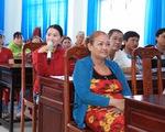 """""""Ngôi làng bền vững"""": Người dân được tập huấn nhiều kỹ năng hữu ích"""
