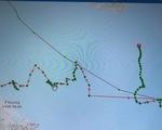 Tìm tàu cá mất tín hiệu 3 ngày sau khi di chuyển theo quỹ đạo khác thường trên biển
