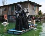Các nhân vật Star Wars bỗng xuất hiện giúp Philippines chống virus corona