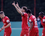 Khuất phục 'hiện tượng' Saarbrucken, Leverkusen vào chung kết Cúp quốc gia Đức