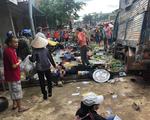 Tai nạn kinh hoàng: xe tải trọng lớn lao thẳng vô chợ, 5 người chết