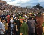 Ban tổ chức sân Hà Tĩnh bị cảnh cáo, phạt 15 triệu đồng vì để xảy ra