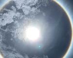 TP.HCM và nhiều tỉnh xuất hiện hào quang mặt trời, kéo dài hơn 1 giờ