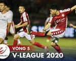 Kết quả và bảng xếp hạng vòng 5 V-League: Bình Dương và CLB TP.HCM chia nhau ngôi đầu