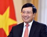 Phó thủ tướng Phạm Bình Minh làm tổ trưởng tổ công tác đón sóng chuyển dịch đầu tư
