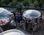 Những chiếc lều khí sạch diệt COVID-19 tại nhà hàng Thổ Nhĩ Kỳ