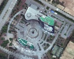 Ảnh vệ tinh cho thấy văn phòng liên lạc chung liên Triều vẫn còn sau
