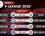 Lịch trực tiếp V-League 2020 ngày 24-6: Quang Hải so tài Tiến Linh
