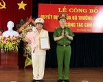 Bổ nhiệm giám đốc và phó giám đốc Công an tỉnh An Giang