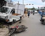 Xe khách tông xe tải, xe tải tông thêm nhiều xe trên quốc lộ, 1 người chết