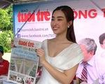 Hoa hậu Đỗ Mỹ Linh khuyên học sinh sống với đam mê, chọn ngành học yêu thích