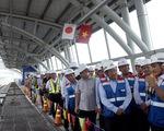 Phó thủ tướng Phạm Bình Minh thị sát tuyến metro Bến Thành - Suối Tiên